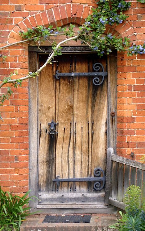 Wooden Door 2. By Roberto Alamino Love all of the different architectural details!