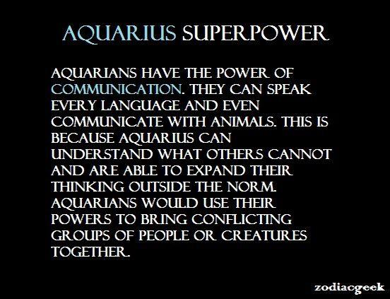 Aquarius: Superpower