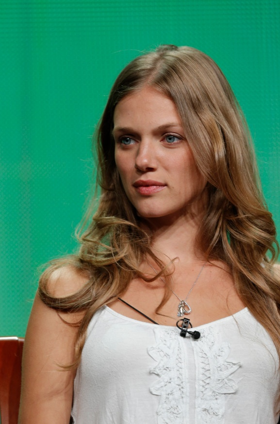 """NBCUniversal Press Tour July 2012 -- """"Revolution Session"""" -- Pictured: Tracy Spiridakos -- (Photo by: Chris Haston/NBC) 2012 NBCUniversal Media, LLC #Revolution"""