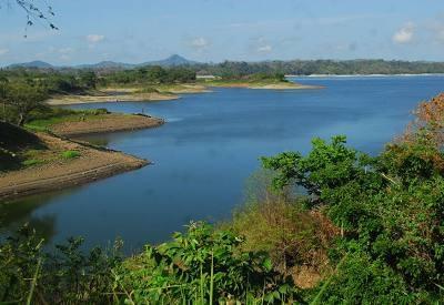Panama, sequia.Los niveles del lago Bayano están a solo dos metros del nivel mínimo.