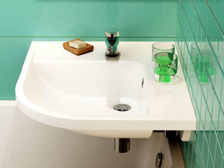 9 besten kleines Gästebad mit Badewanne und Waschbecken Bilder auf ...   {Eckwaschbecken mit unterschrank 53}