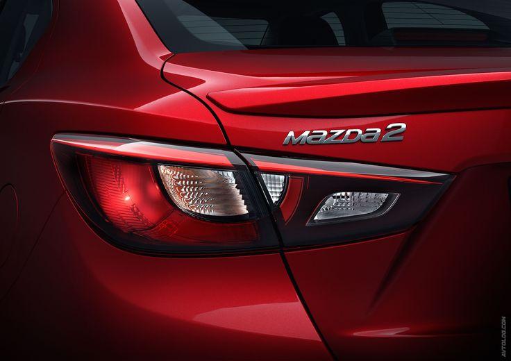 2015 Mazda 2 Sedan  #Mazda2 #Mazda #Serial #CO2 #Segment_B #Japanese_brands #2015MY #Mazda_SkyActiv_D