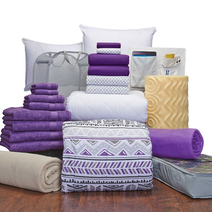 Girls Complete Campus Pak - Twin XL Bedding and Bath Set | Dorm Bedding and Bath | OCM.com