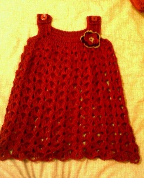 Vestido niña tejido | hilo y estambre= felicidad | Pinterest | Tejido