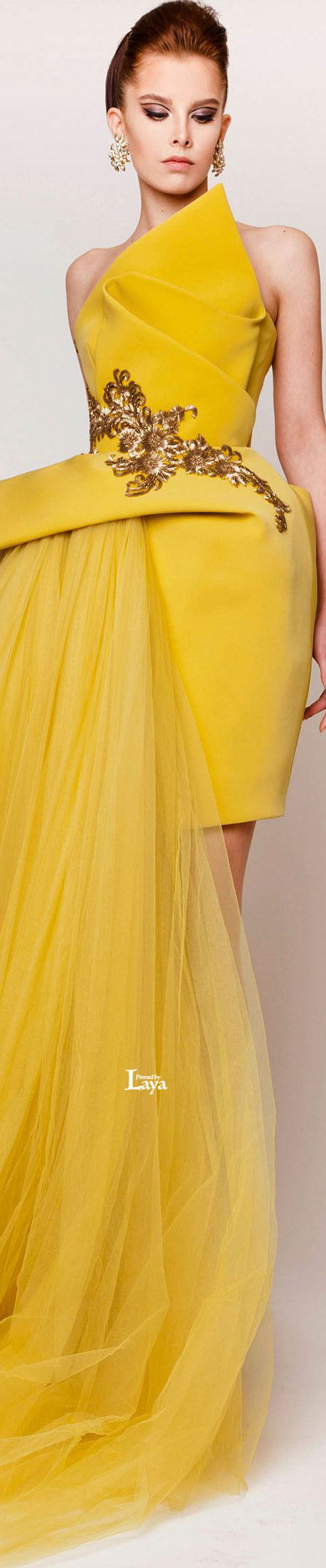♔LAYA♔AZZI & OSTA S/S 2015 COUTURE♔