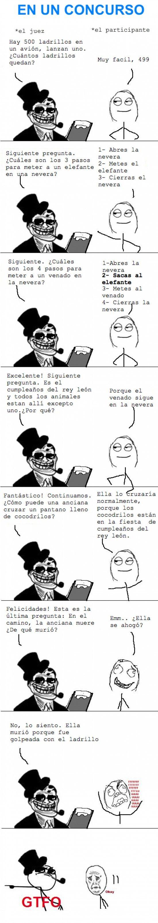 Trollface - Concurso troll.