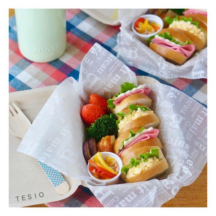 超熟ロールで♪切り方で変わる!食べやすくて可愛いミニサンドイッチの作り方