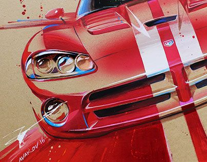 "Check out new work on my @Behance portfolio: ""Dodge Viper"" http://be.net/gallery/40213637/Dodge-Viper"