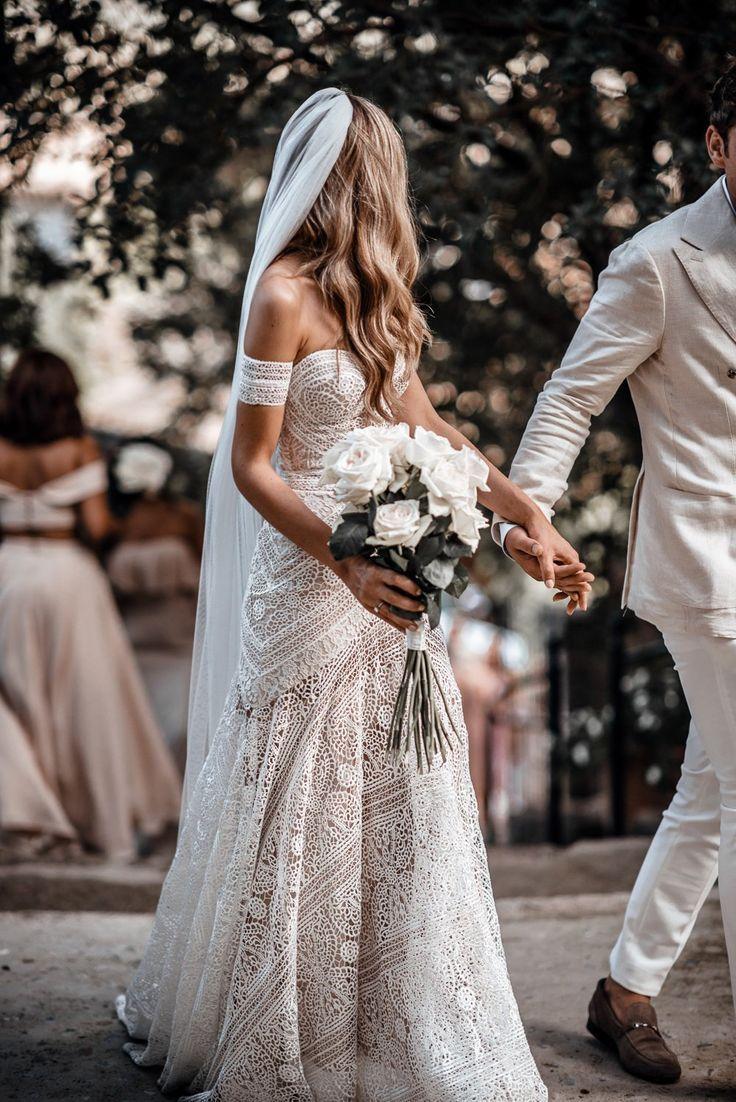 Ivory Lace Country Wedding Dresses Sweetheart Beach Mermaid Bridal