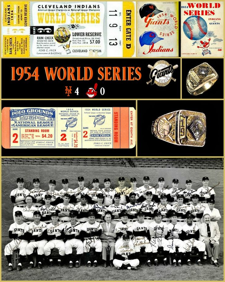 1954 New York Giants (MLB) season