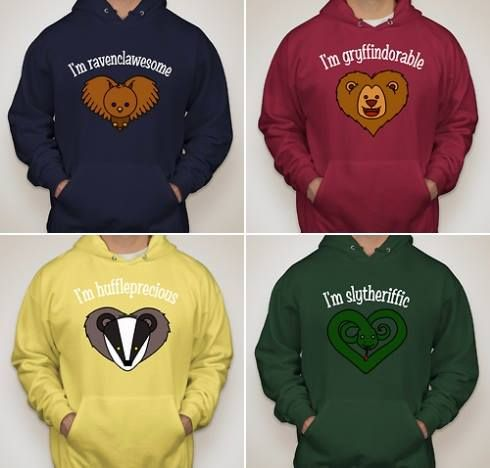 Harry Potter hoodies - I WANT THAT GRYFFINDOR ONE FOR XMAS I WOULD LOVE YOU FOREVER