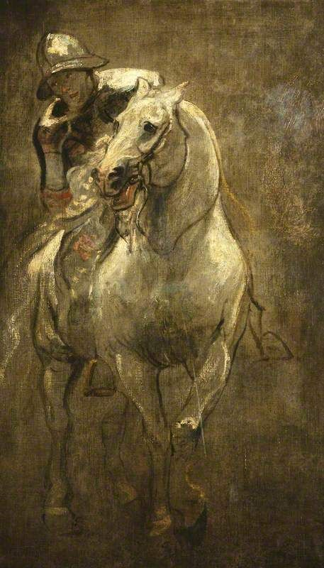 A Soldier on Horseback by Anthony van Dyck 1616