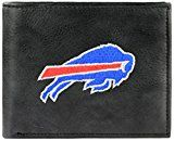 NFL Buffalo Bills Embroidered Genuine Leather Billfold Wallet