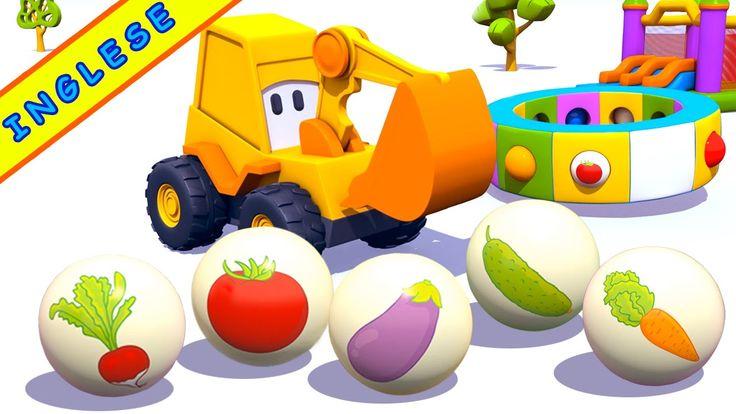 Cartoni animati per imparare l'inglese: Max e le verdure