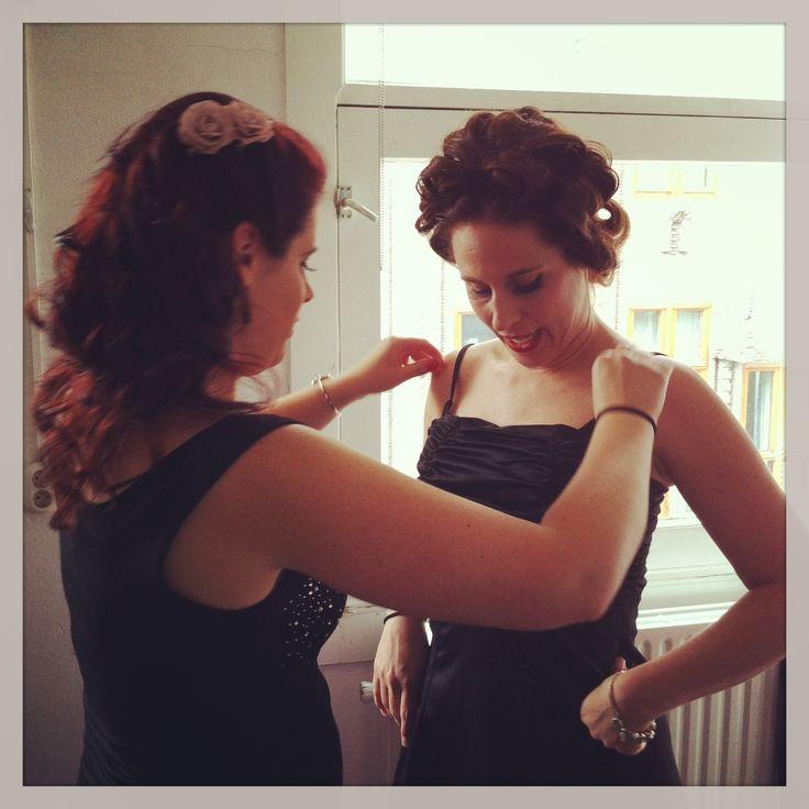 Vintage Makeover in Amsterdam by MAKEUPBOOST.NL