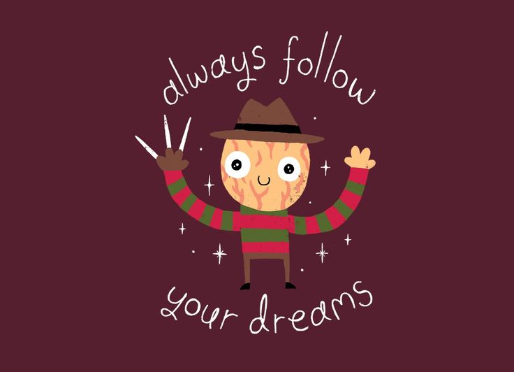Check out the design Always Follow Your Dreams by Michael Buxton on Threadless