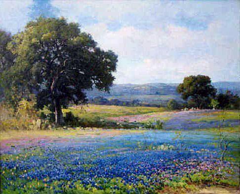 texas bluebonnet paintings - Google Search | Art | Pinterest ...