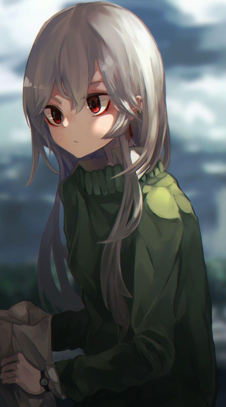 Pin On Anime White Hair