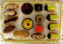 Petit fours are more than square cake with fondant, any small dessert that is 2 or 3 bites can be a petit four-Wikipedia, the free encyclopedia
