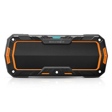 BlitzWolf® BW-F3 IPX5 Water-resistant 2*5W Outdoor Sport Bluetooth Speaker Sale - Banggood.com