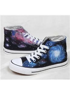 dd6c69fac5eb Fantasy Starry Sky Special Design Gradient Sneaker   dressyours.com ...