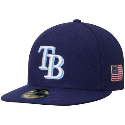 Tampa Bay Rays New Era Authentic Collection On-Field 59FIFTY Fitted Hat with…