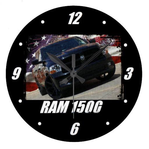 2009 Ram 1500 Quad Cab Large Clock