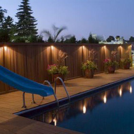 Waterproof Solar Ed Outdoor Garden Light Gutter Fence Wall Roof Yard Led Lamp Lights Free