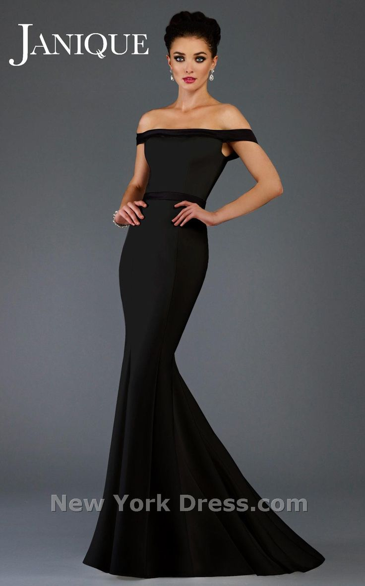 795 best gowns images on pinterest wedding dressses beautiful fill your evening with glamorous style in this sinuous gown by janique c1456 the banded ombrellifo Images