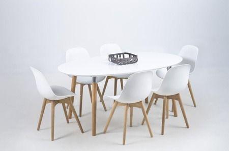 Scramble krzesło - białe