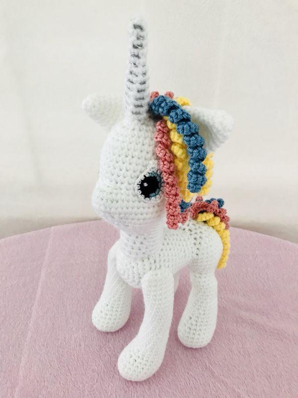 Unicornio Crochet Amigurumi for Sale in Chula Vista, CA | Crafting ...