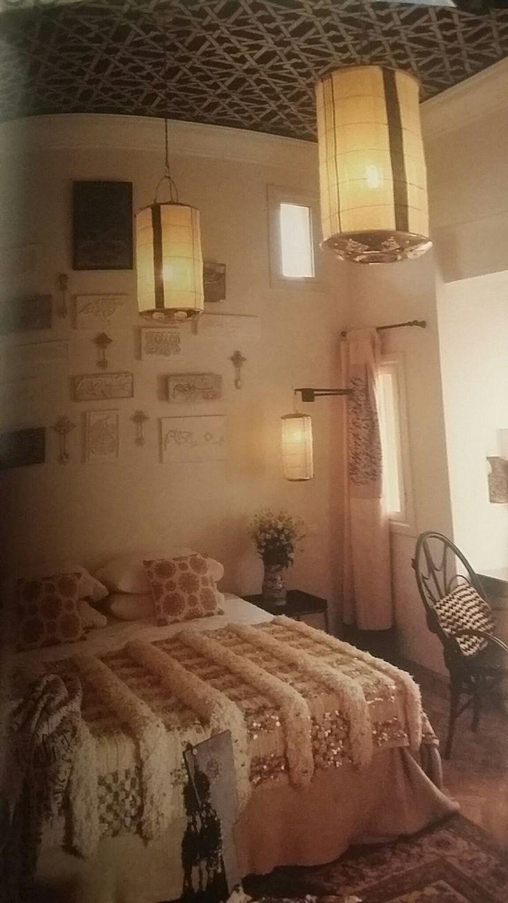 Sumptuous tudor style homes method philadelphia traditional bathroom - Moroccan Bedroom Soft Furnishings And Warm Lighting By Maryam Montague