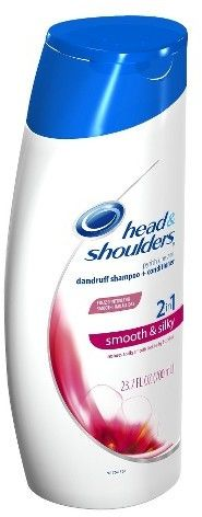 Head & Shoulders Head and Shoulders Smooth & Silky 2-in-1 Dandruff Shampoo + Conditioner - 23.7 fl oz