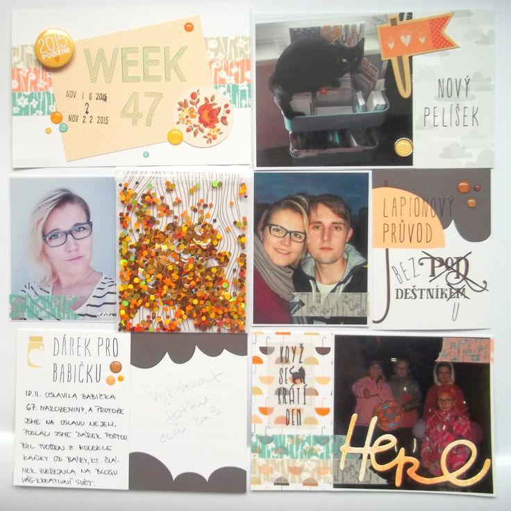 My little paper world...: WEEK 47