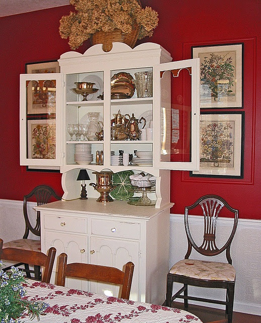 Home Decor China: White China Cabinet