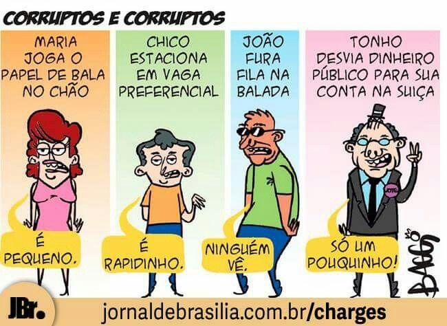 Corruptos e corruptos