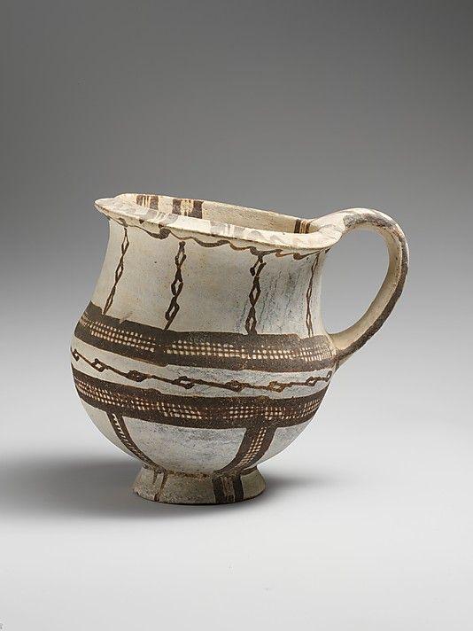 Late Cypriot I-IIIA Date: ca. 1600–1150 B.C. Culture: Cypriot Medium: Terracotta Dimensions: H. 5 15/16 in. (15.1 cm) The Metropolitan Museum of Art