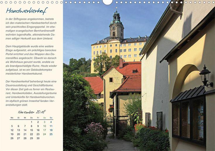 """Städte- und Regionalkalender """"Rudolstadt – mein Spaziergang durch den historische Stadtkern"""", Kalenderblatt November: Handwerkerhof"""