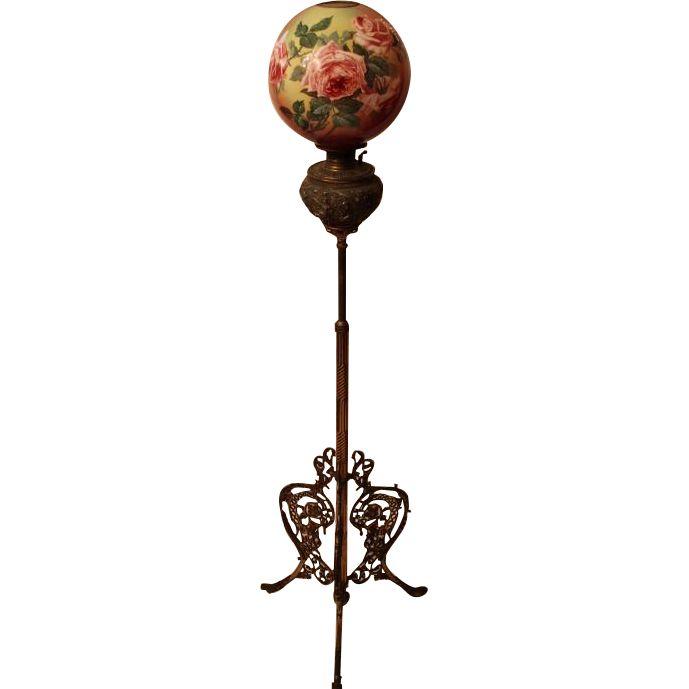 Vintage Victorian Lamp 113