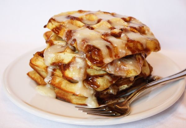 Cinnamon Roll WafflesDesserts, Nom Cinnamom, Cinnamon Rolls Waffles, Food Cooking, Cinnamom Rolls, Favorite Recipe, Breakfast Recipe, Nom Nom, Cinnamon Roll Waffles