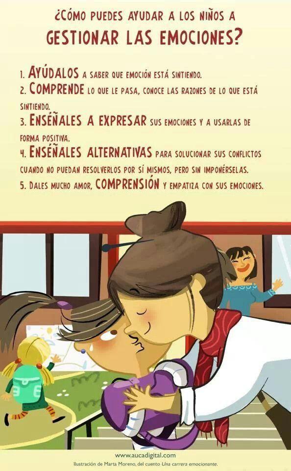 Ayuda a tu hijo a gestionar sus emociones