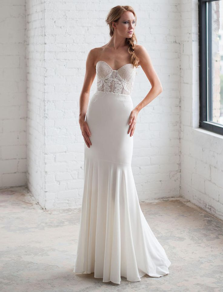 Tara LaTour Shows Uniquely Gorgeous Wedding Dresses for Fall 2016  | available at Kinsley James Couture Bridal