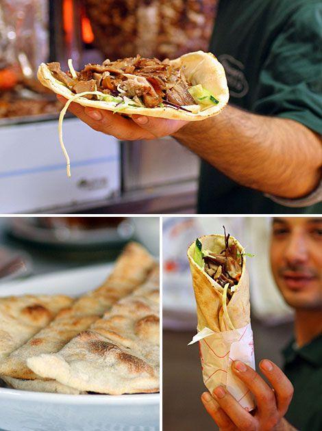 Durum Kebab♥ ! I am crazyyyyyyyyy for it !!!! J'aime :D :D