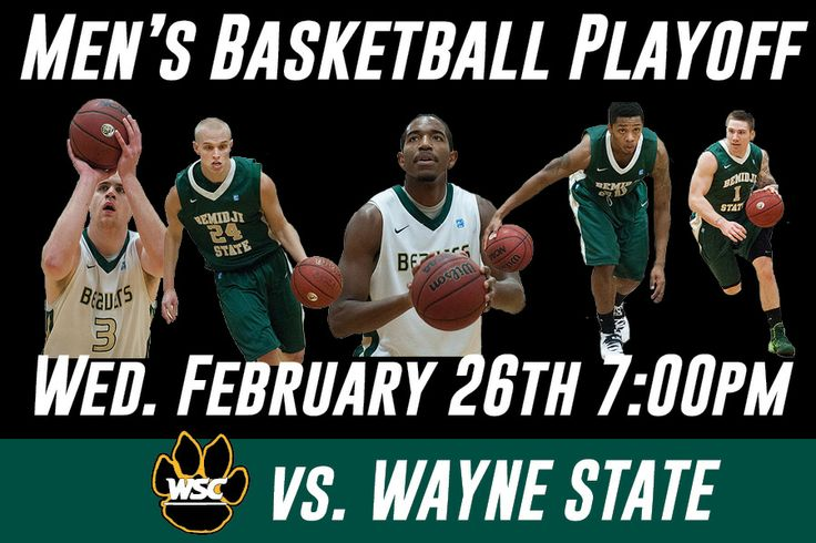 The Beavers earned the No. 2 seed after sharing the NSIC North Division Championship, the team's second league title in the last three years (Outright NSIC Title in 2011-12). No. 2 seed North Bemidji State Basketball hosts No. 7 seed South Wayne Sate Feb. 26 at 7 p.m.