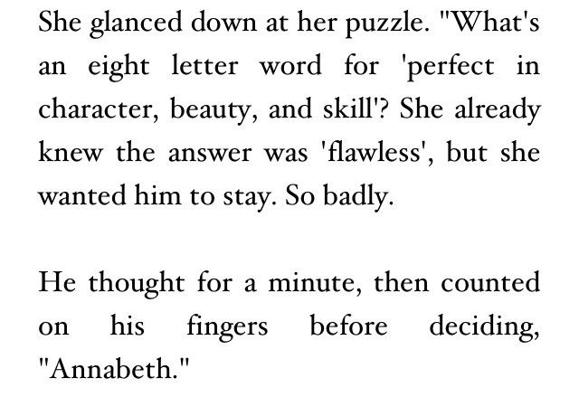 Percabeth Fanfiction <- Adorable! (I only accept these kinds of fanfics).
