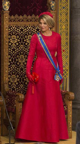 Queen Máxima, September 16, 2014 in Fabienne Delvigne   Royal Hats