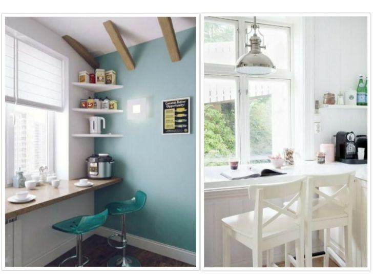 zonas-comedores-sencillos-ventanas | casas / decoracion / ideas ...