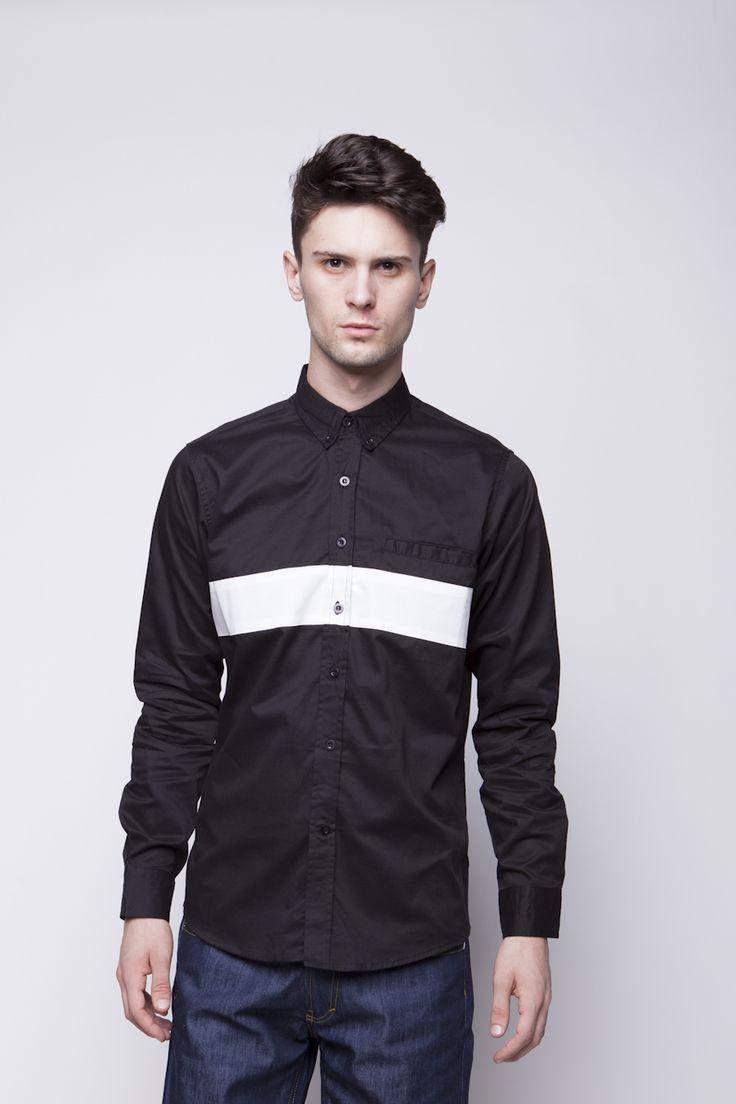 Vertical White Shirt | IDR 180.000