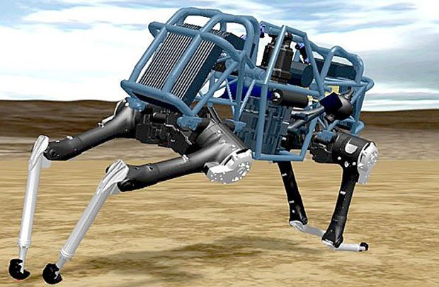 "Whoa: Boston Dynamics Announces New ""WildCat"" Quadruped - IEEE Spectrum"