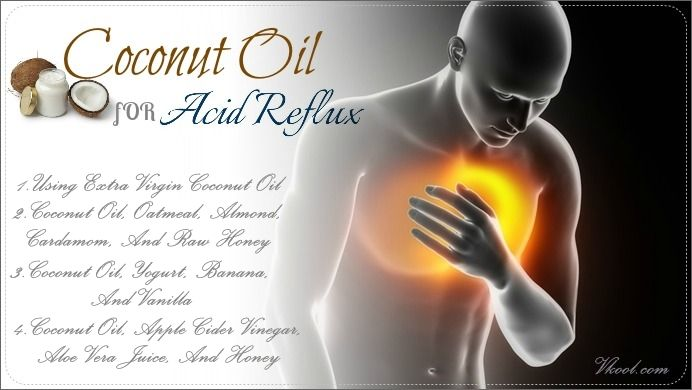 People suffering from acid reflux often experience some various symptoms such as gas, heartburn or chest pain, burping, bitter taste, bloating, experiencing uneasiness in bending or lying down. There are many commercial heartburn medicines available in the market. However, they have short-lived effects and they often lead to unwanted side effects. So, why bother wasting money and time on those when you may treat and prevent this condition with coconut oil?